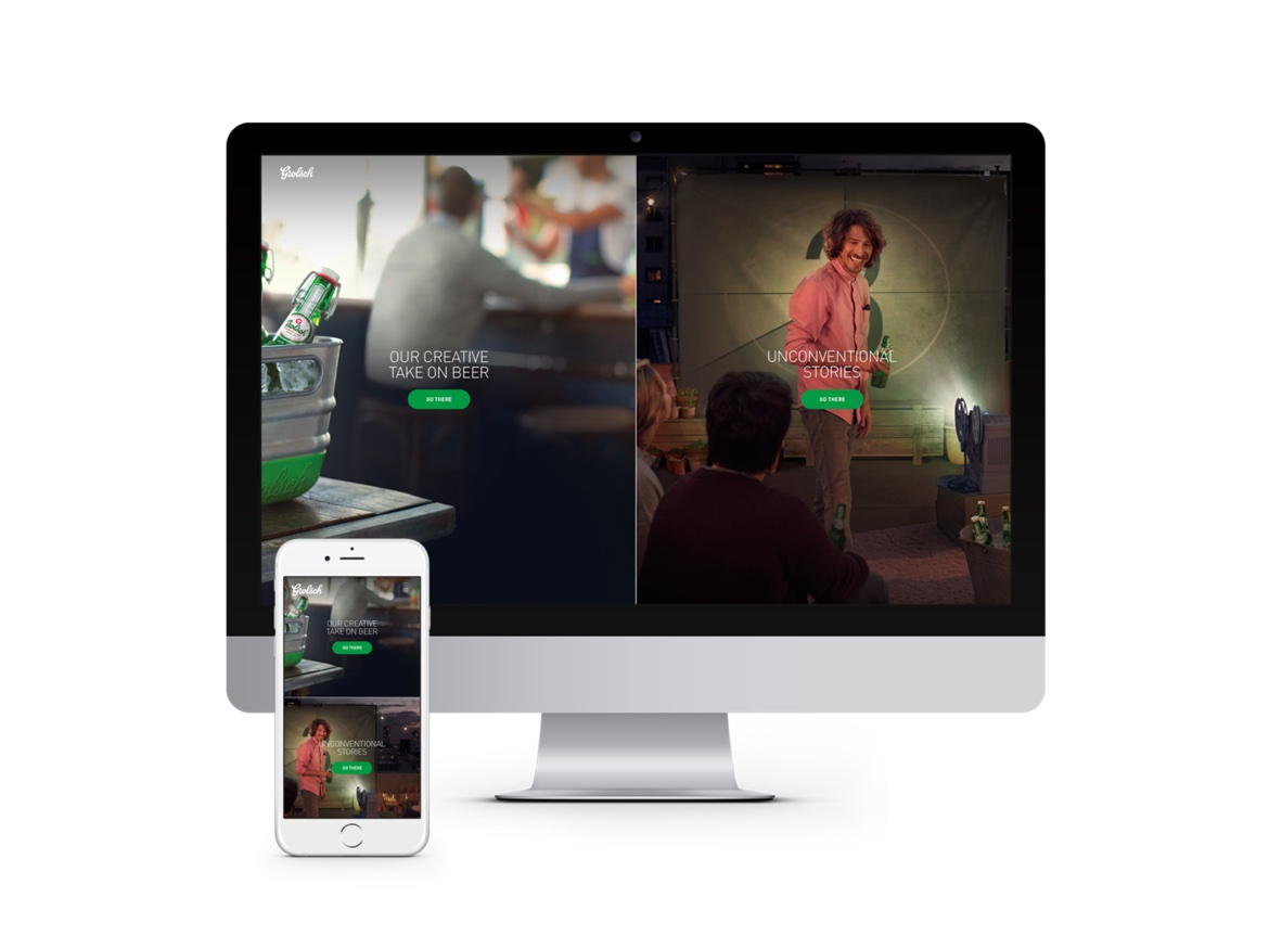 Grolsch Website